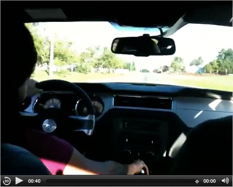 Leo laporte s 2010 ford mustang for Laporte county state of emergency