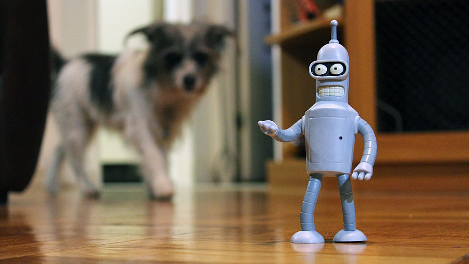 Bender, Watch your back!