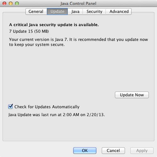 Java-7-Update-15-Control-Panel