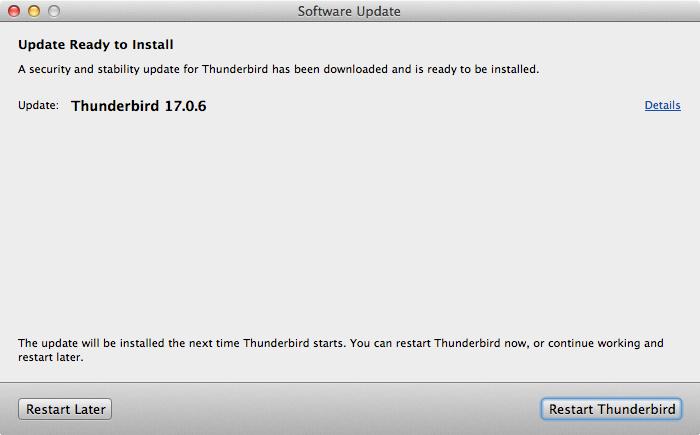 Thunderbird 17.0.6