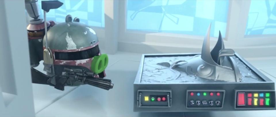Angry Birds Star Wars Boba Fett Han Solo