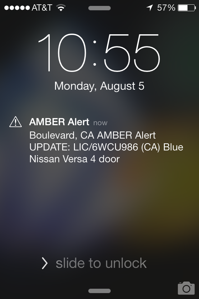 iphone amber alert alert on android and iphone 37prime 11585