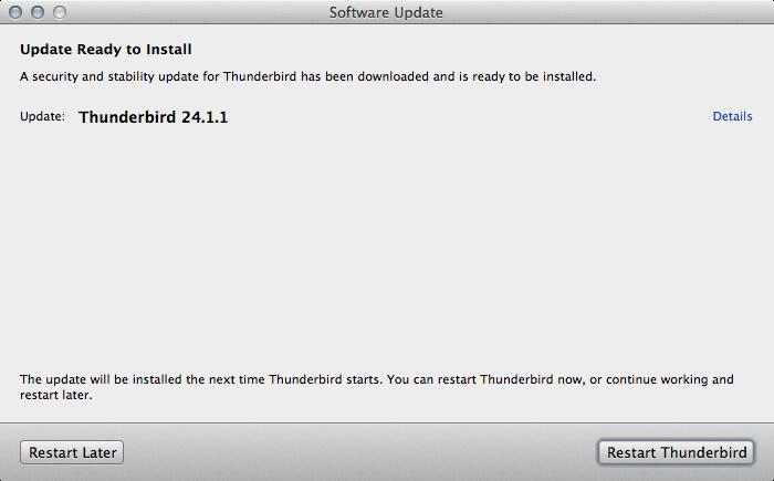 Thunderbird 24.1.1