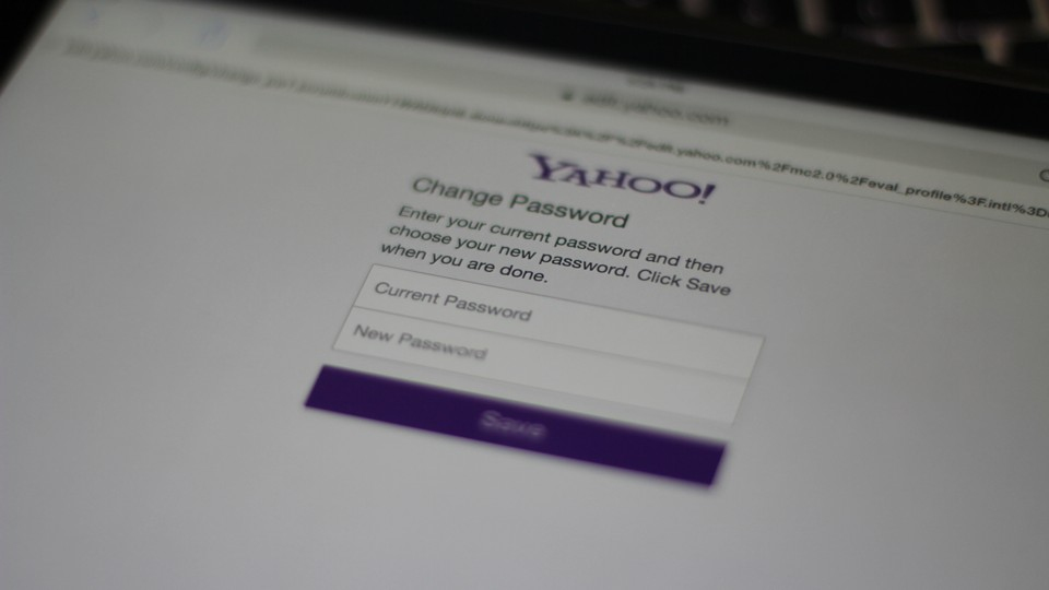 how to change the password on my yaho account