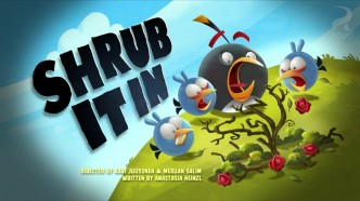 Angry Birds Toons Shrub It In