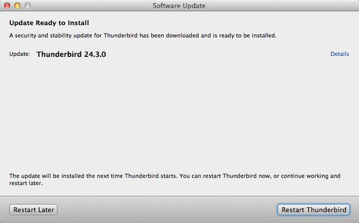 Thunderbird 24.3.0