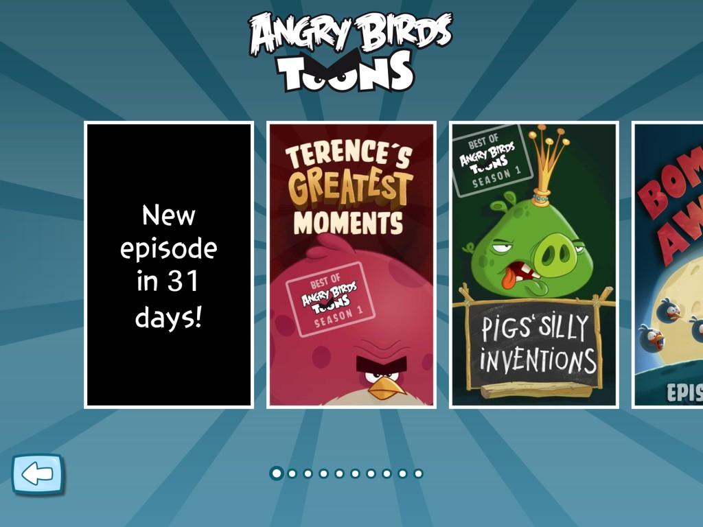 Angry Birds Toons New Episode in 31 Days