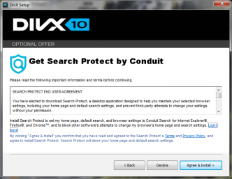 DIVX plus Conduit Search