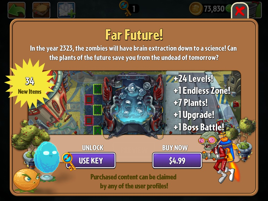 PVZ2 Far Future Preview