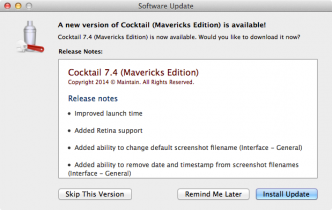 Cocktail Mavericks 7.4