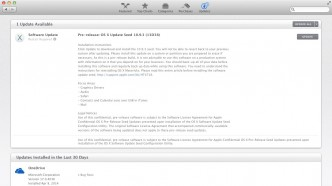 OS X Mavericks 10.9.3 13D38