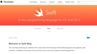 Swift Blog Apple Developer