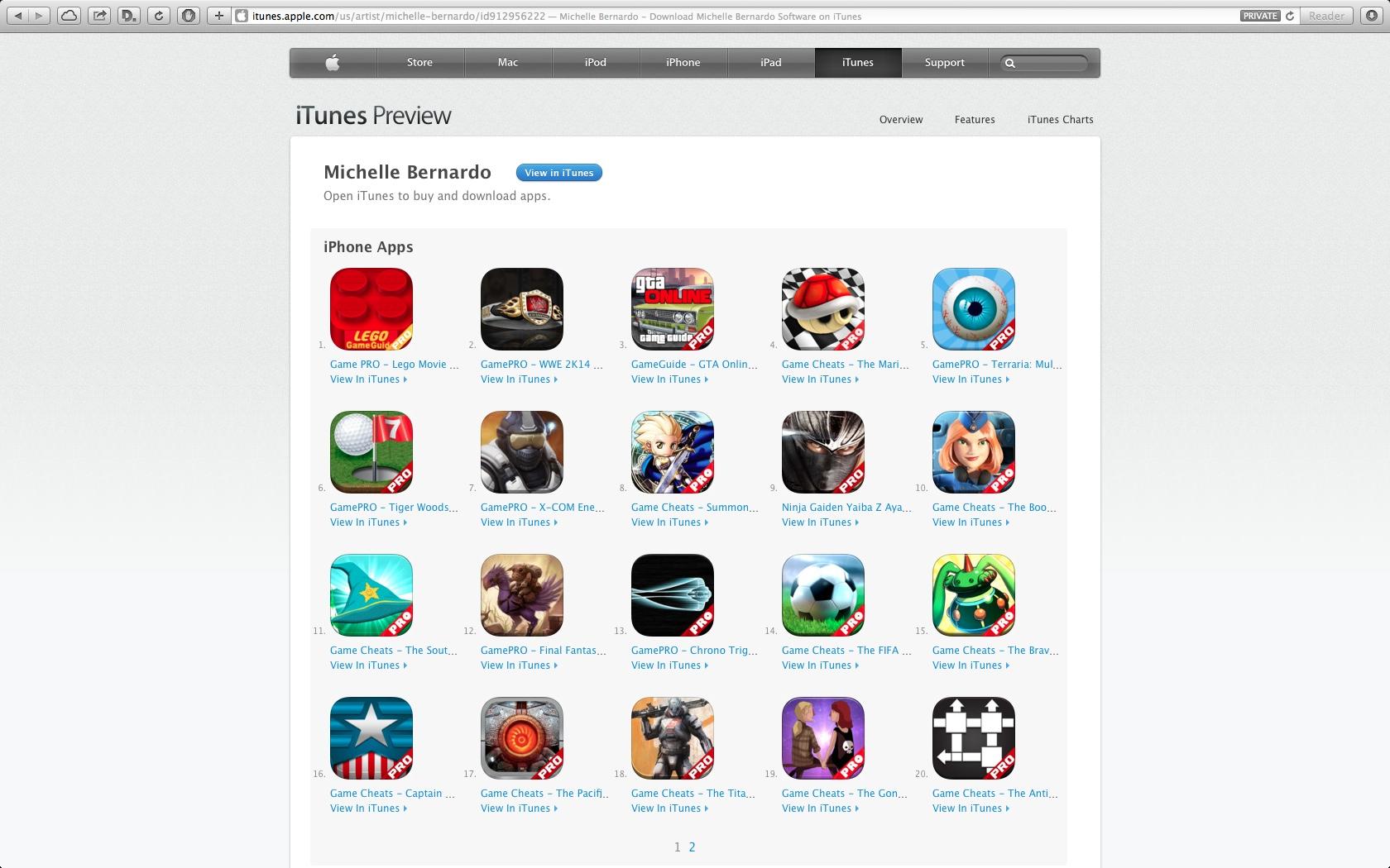 Junk in the App Store Michelle Bernardo