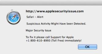applescurityissue.com scam