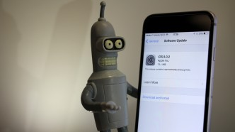 iOS 8.0.2 iPhone 6 and Bender