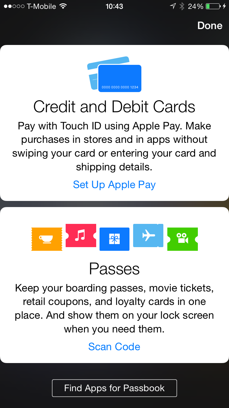 Apple Pay Setup 1