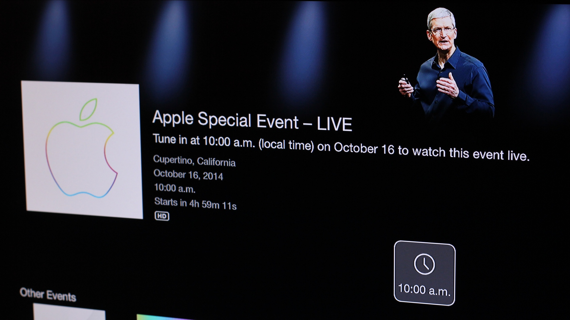 Apple Special Event October 16 2014
