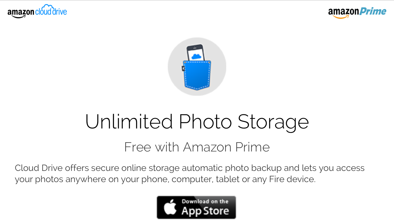 Amazon Cloud Drive Photos