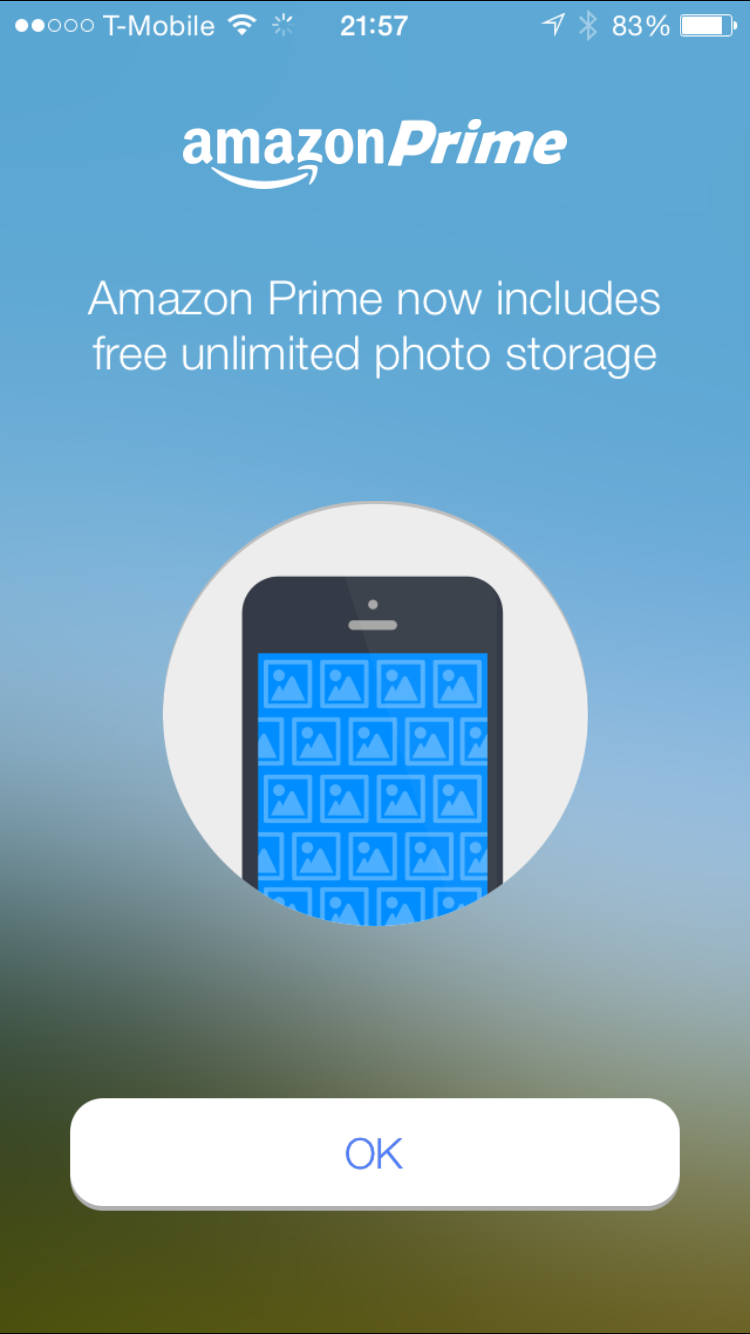 Amazon Cloud Drive Photos iOS App
