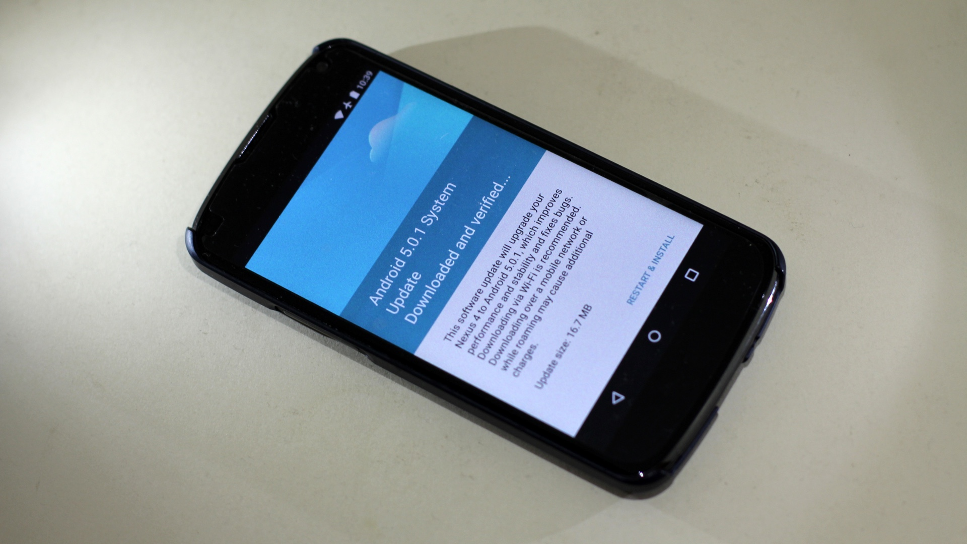 Android 5 0 1 For Nexus 4 37prime News