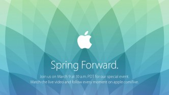 Apple March 2015 Spring Forward