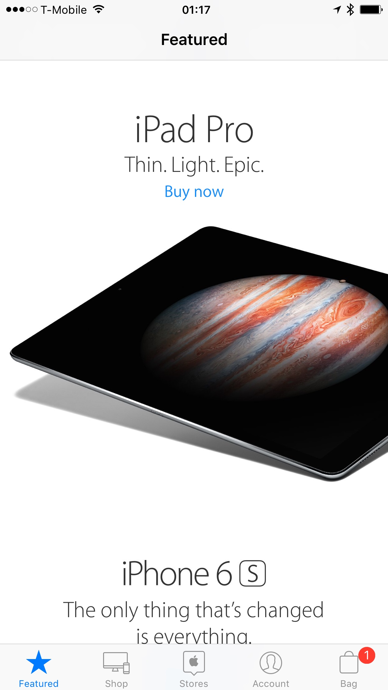 iPad Pro is now available