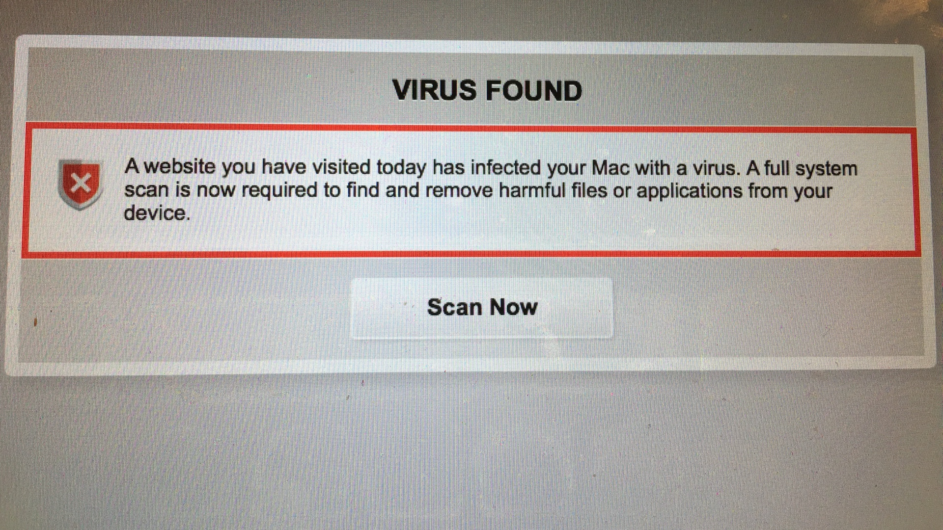 macoscheckdotcom scam site fake virus check