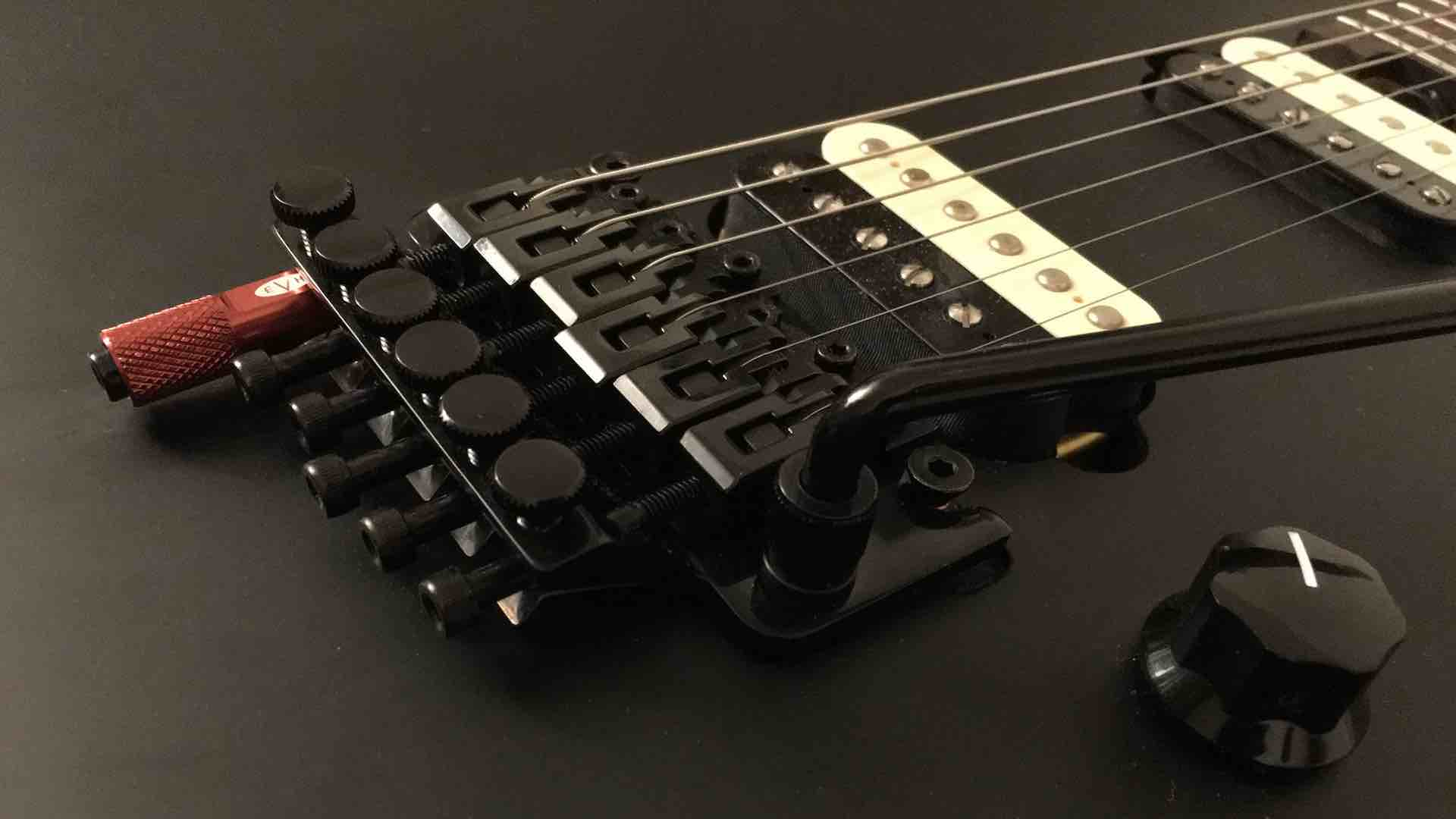 EVH Wolfgang Special Stealth with Red D-tuna