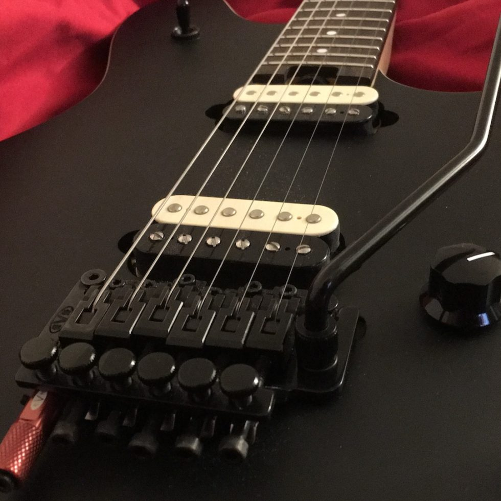 EVH Wolfgang Special Stealth Red D-Tuna