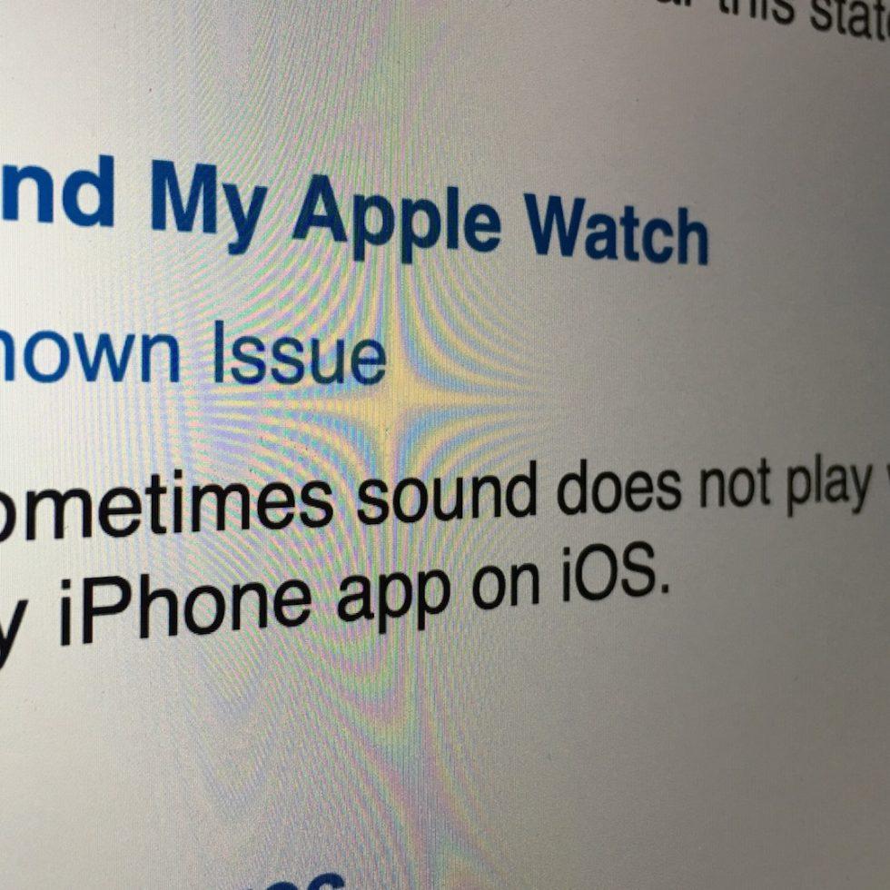 Find My Apple Watch