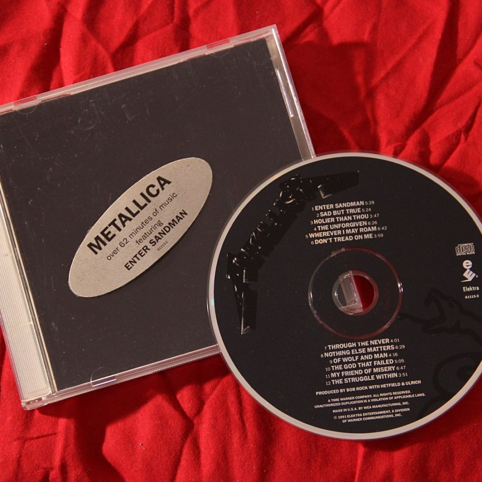 Metallica Black Album CD