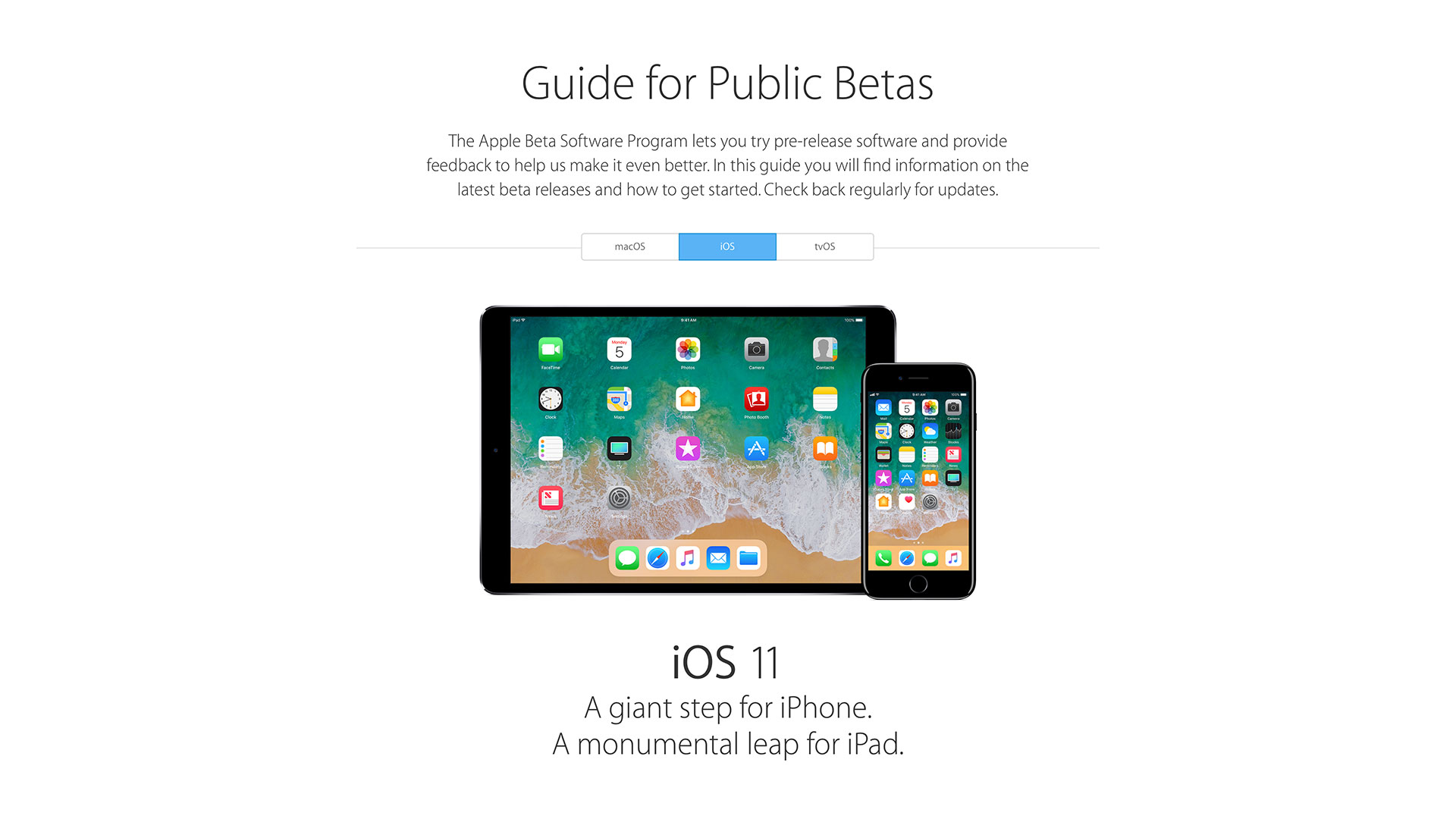 Apple-Guide-for-Public-Betas-iOS11
