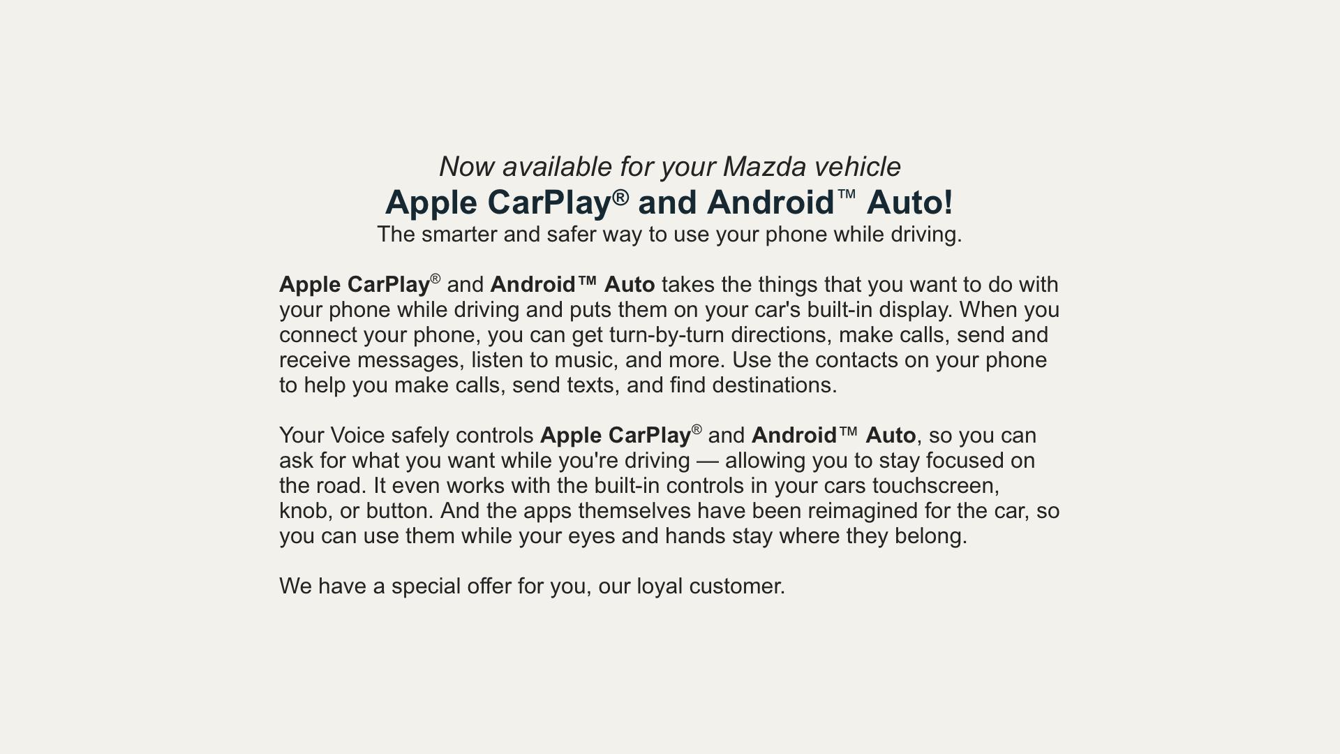Mazda Android Auto Retrofit - Premium Android