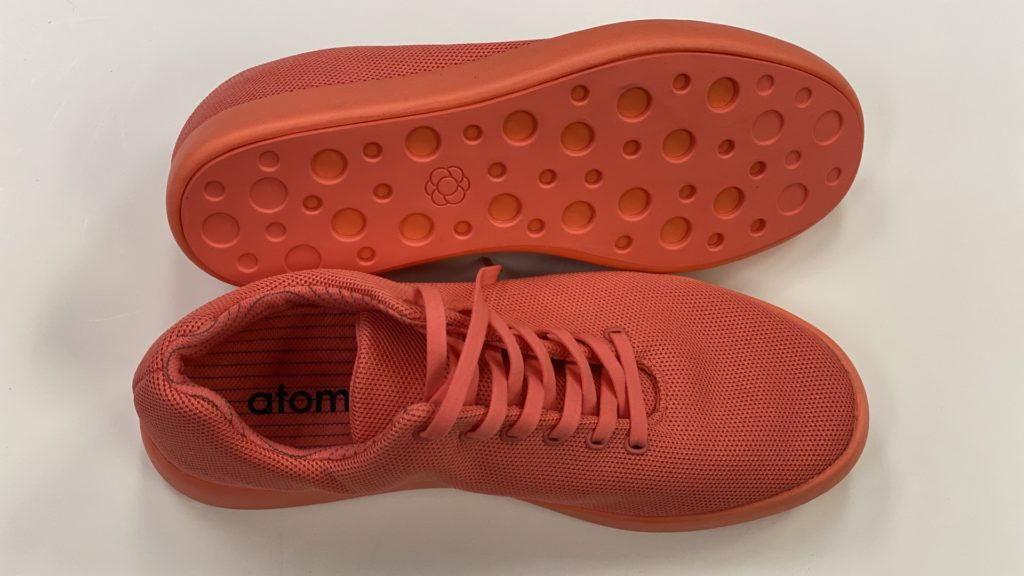 Atoms Model 000 Pink Coral Boxed Top Bottom